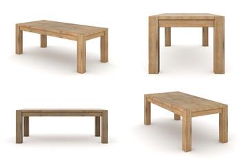 Holztisch Esche