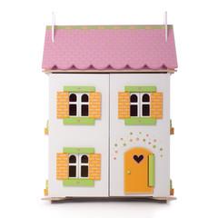 maison de poupée fermée de face