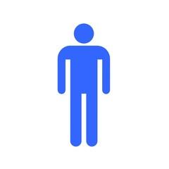 Picto Toilette : Homme