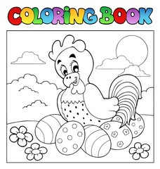 Coloring book with Easter theme 4