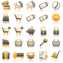 sale Orange Icons