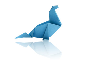 Origami isolated.