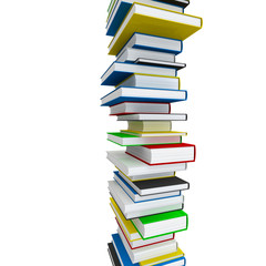Infinite pile of books