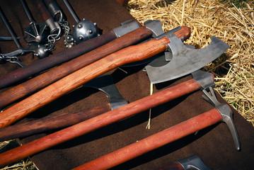 Medieval blunt weapons