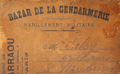 Bazar de la gendarmerie