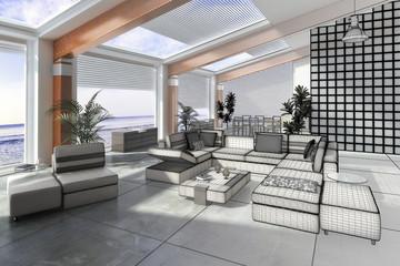 Strandhaus Loft (3d)