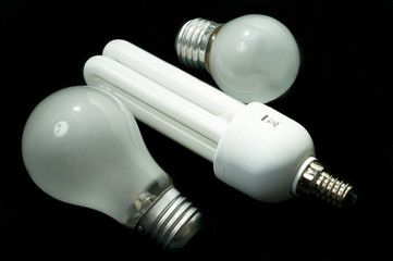 Energy saving light bulb and tungsten