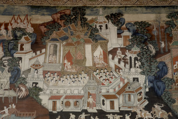 Thai art mural 2.