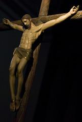 Jesus en la cruz.