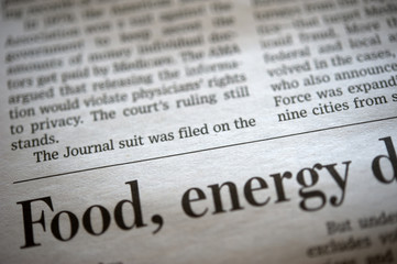 In de dag Kranten Newspaper