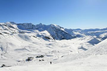 vacances d'hiver sur les pistes de ski