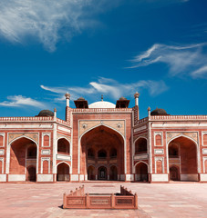 Foto auf Leinwand Delhi Humayun's Tomb, Delhi, India