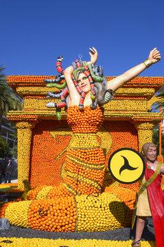 Fête du citron de Menton 2011
