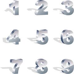 Number illustration.
