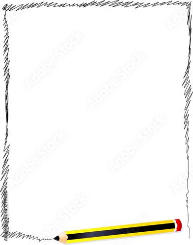Cornice Di Scarabocchi Frame Scribbles Immagini E Vettoriali