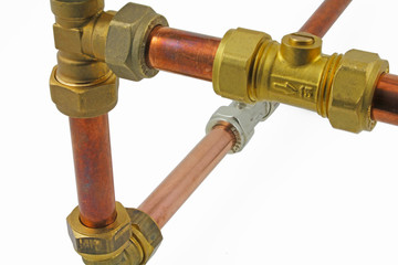 isolated pipework