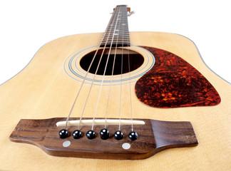 Wall Mural - Acoustic guitar strings