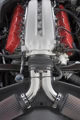 Papiers peints Rouge, noir, blanc Viper engine