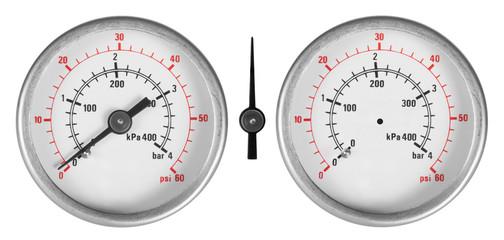 Set of manometers