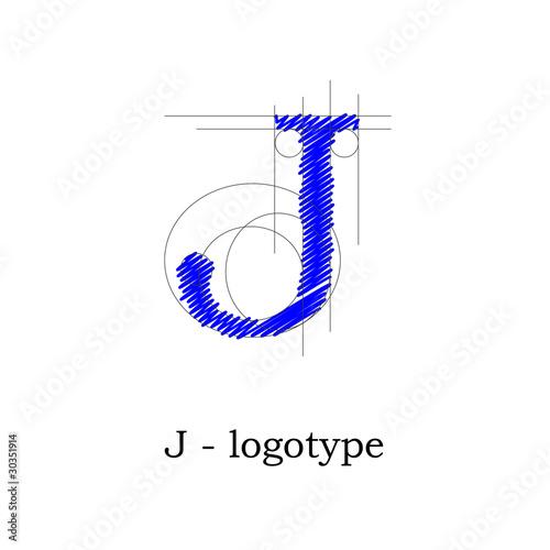 Logo design lett...J Design Letter