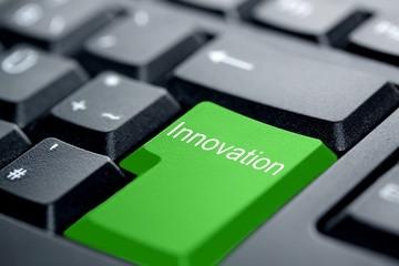 Innovation grüne Taste