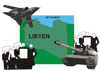Krisengebiet - Libyen