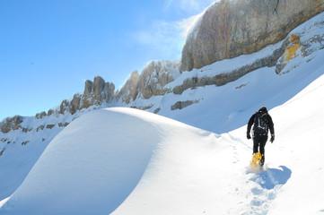 Schneeschuhwandern ifen
