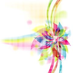 Floral background, vector, eps10