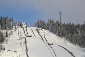 ski jump resort
