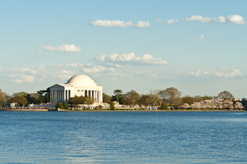 Jefferson Memorial Sunset Tidal Basin Washington