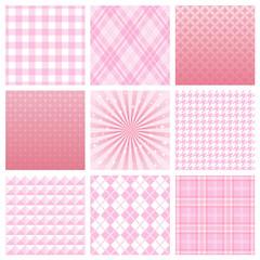 ピンク 広告 背景