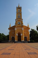 Catholic Church in Ayuthaya, Thailand
