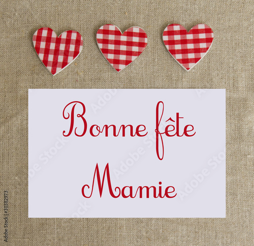 Bonne Fête Mamie Stock Photo And Royalty Free Images On