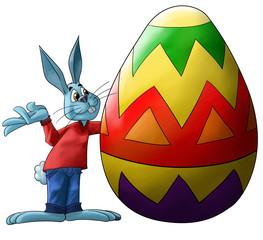 big easter egg