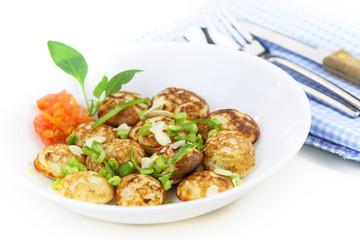 Indian snack punugu