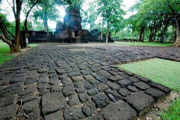 Prasad Muand Sing is stone ruins in Thailand 1.