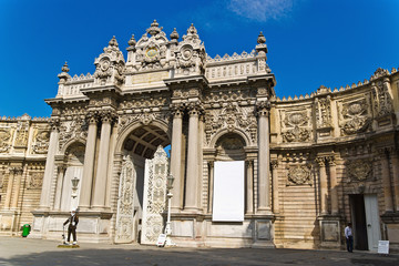 The Gate of the Sultan, Dolmabahche Palace, Istanbul, Turkey