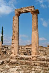 Rovine di un tempio di Cirene - Libia