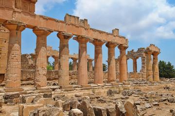 Il Tempio di Zeus a Cirene - Libia