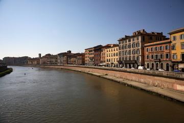 Pisa, il Lungarno