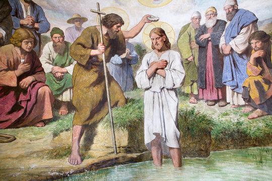 Vienna - baptism of Jesus Christ