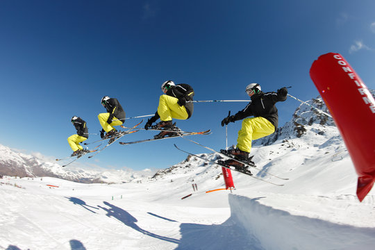 Figure ski freetyle