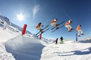 saut ski extrême