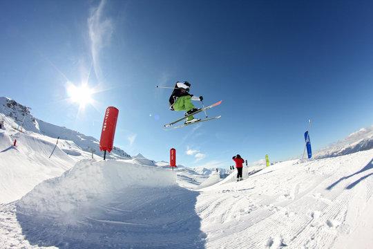 ski extrême freestyle
