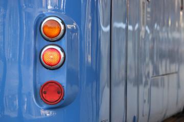 Teil einer Münchner Tram der Baureihe P