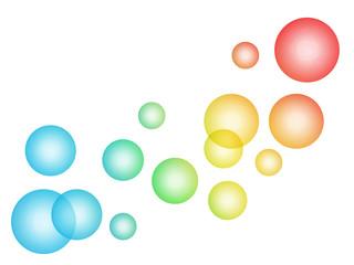 虹色のシャボン玉