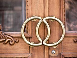 wedding office door