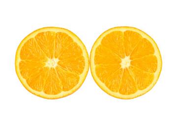 two piece of orange