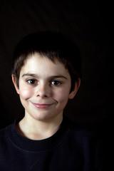 viso di bambino sorridente