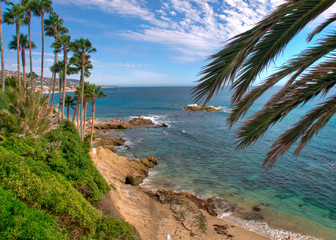 Summer Day on the Pacific Coast in California